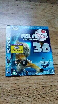 Slipcover Only - Ice Age 4 3D (Blu-ray) (UK) • 2.45£