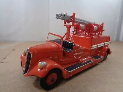 £19.99 • Buy French Dinky Code 3 No.32D Delahaye Fire Truck , Vintage Diecast