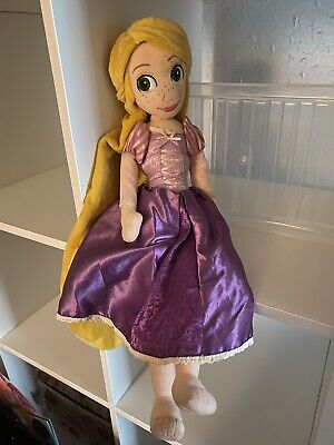 Disney Store Rapunzel Soft Plush Doll (Tangled) • 6.70£