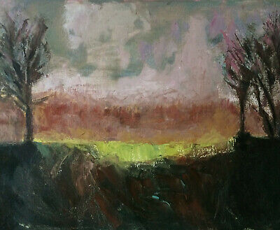 Contemporary Landscape Painting.Oil On Canvas Board 16X20 In Original. 2020 • 100£