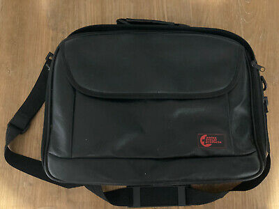Swiss Travel Faux Leather Laptop Bag • 8£