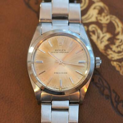 $ CDN2990.80 • Buy Vintage 1966 Mid-Size ROLEX Oyster Speedking Ref:6430 With Oyster Bracelet