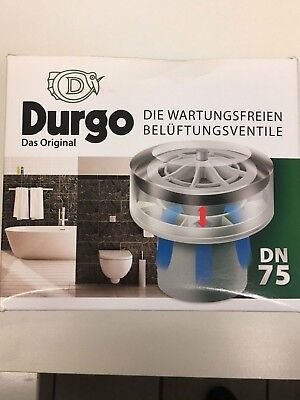 £72.05 • Buy Durgo Ventilation Valve Dn 75 For The Usage From 4 To 6 Bath Tubs With Isolation