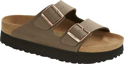 Papillio By Birkenstock ARIZONA GROOVED 1019528 (Nar) Ladies Strap Sandals Mocca • 60£