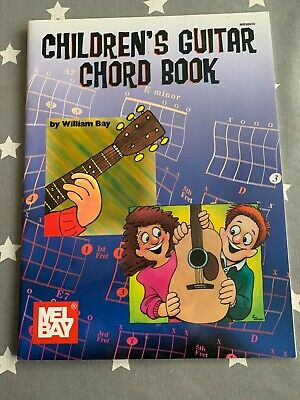 Brand New Children's Guitar Chord Book By William Bay • 5£