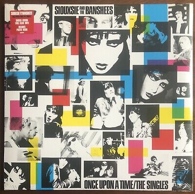 SIOUXSIE AND THE BANSHEES Once Upon A Time/The Singles CLEAR VINYL/HALF SPEEDnew • 21.66£