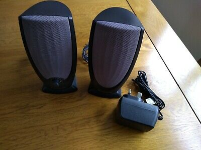 Multimedia Speakers (Same As Dell, Pair, Active, Computer, Laptop, Stereo)TESTED • 8£