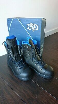 HAIX Chainsaw Boots Climber Boots Blue Mountain Size 8 Uk • 77£