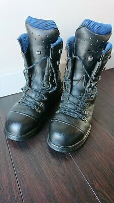 HAIX Chainsaw Boots Climber Boots Blue Mountain Size 8 • 41£