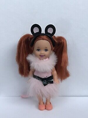Barbie Swan Lake Movie Shelly/Kelly Mouse Doll 2003 • 1.20£