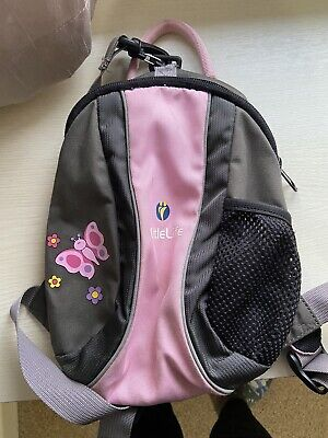 LittleLife  Pink Toddler Backpack With Reins • 3.20£