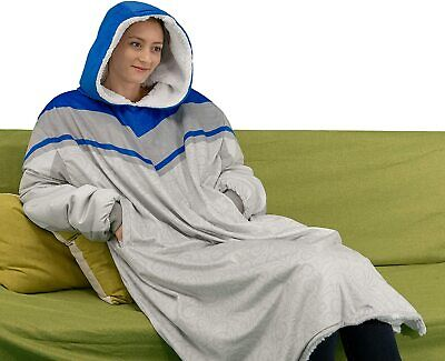 $ CDN44.84 • Buy Oversized Hoodie Blanket With Very Soft Sherpa Lining And Reversible Feature
