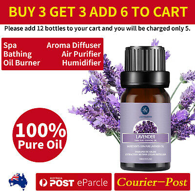 AU8.99 • Buy Essential Oil 100% Pure&Natural Aromatherapy Diffuser Fragrance Aroma 10/30ML