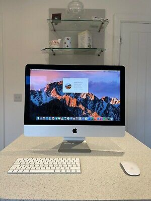 Apple IMac 21.5 Retina 4K 2017 -1TB, Intel Core I5 With Apple Keyboard & Mouse  • 511£