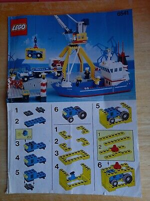 £14.99 • Buy Vintage Lego Town 6541 Harbour Intercoastal Seaport - Instruction Manual Only
