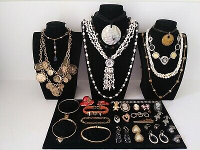$ CDN19.57 • Buy Huge Vintage To Now Jewelry Lot Estate Find  All Wearable Pieces - SOME SIGNED