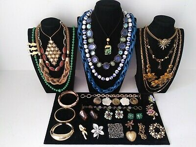 $ CDN14.52 • Buy Huge Vintage To Now Jewelry Lot Estate Find  All Wearable Pieces - SOME SIGNED