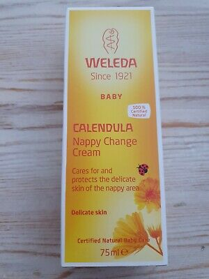 £7.98 • Buy Weleda Calendula Baby Nappy Change Cream 75ml | 100% Natural | Best Before 08/22