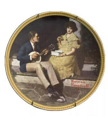 $ CDN1.25 • Buy Vintage Lot Of 4 Norman Rockwell Collection Plates Knowles Art Rare Picture Wall