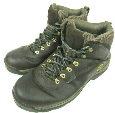£50.30 • Buy Timberland White Ledge Mid Waterproof Hiking Boots 12135 Brown Mens US 11.5W