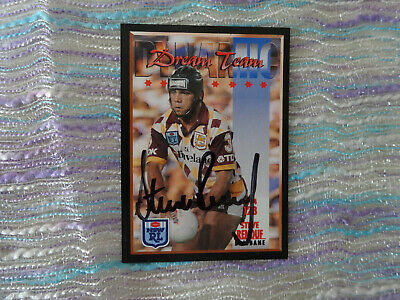 AU10 • Buy 1994 Nrl Series 2 Signed Trading Cards  # 128 Steve Renouf