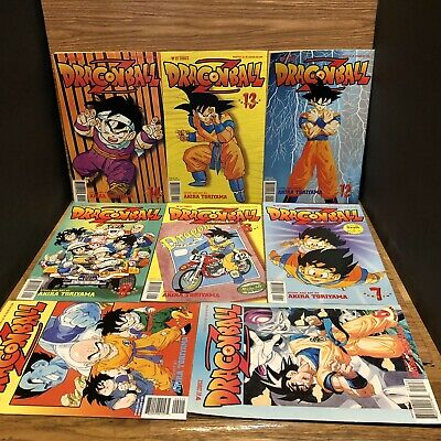 $ CDN37.87 • Buy 8 Dragonball Z Comics 1998 Part Two Akira Toriyama Viz 2 7 8 9 12 13 14 Plus #6