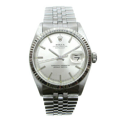 $ CDN5132.51 • Buy ROLEX OYSTER PERPETUAL DATEJUST Ref.1601 Mens Self-winding Wristwatch 31* A52647
