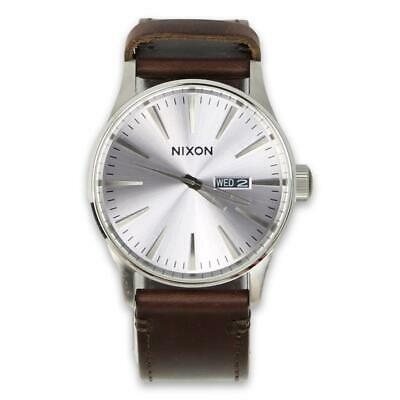 £76.51 • Buy Nixon Mens Sentry Pack Watch White Brown Tan One Size New