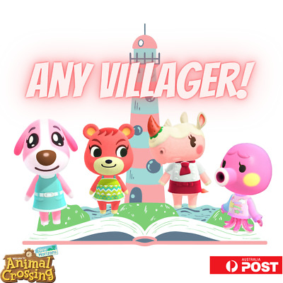 AU10 • Buy NFC Amiibo Cards - Any Villager! New Horizons Game Tested NSW STOCK