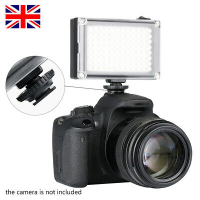 96-LED Video Light Photo Studio Fill Lamp For DSLR Camera Camcorder UK • 10.99£