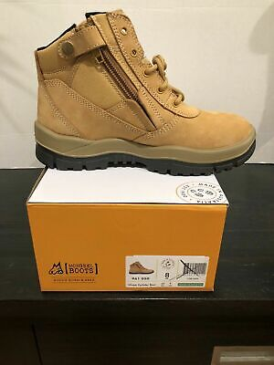 AU89.95 • Buy Mongrel Boots 961050, Wheat Nubuck, Soft Toe, Non Safety, Zip Sider.