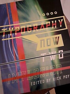 Graphic Design Book - Typography Now Two Implosion - Used But Perfect Condition • 8£