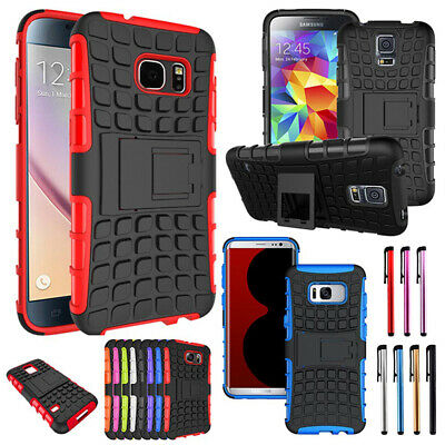 $ CDN9.73 • Buy Shockproof Rugged PC+TPU Protect Case Cover For Samsung Note 8 5 4 Plus S7 S6