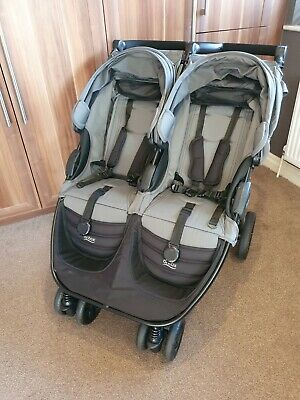 Britax B-Agile Double Pushchair With Britax Romer Baby Safe I-size Car Seat • 70£