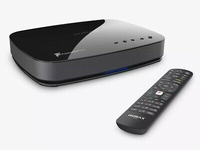Humax Aura 2TB 4K Ultra HD Smart Android Freeview Play TV Recorder • 223.99£
