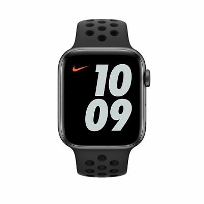 $ CDN404.03 • Buy Apple Watch Series 4 Nike 44mm Space Gray Aluminum Case With Anthracite