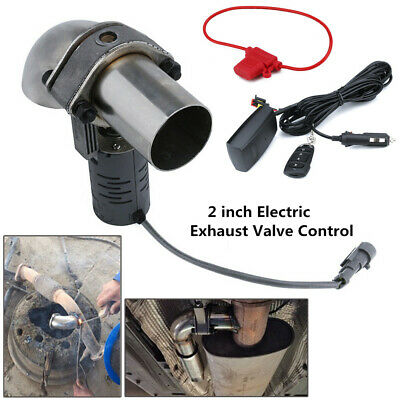 $ CDN144.76 • Buy 2 Inch Electric Exhaust Valve Control Downpipe Cut Out Catback Wireless Remote