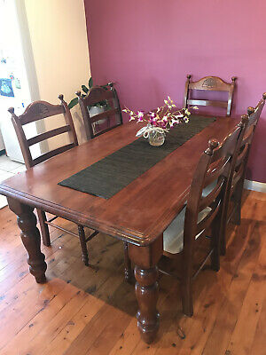 AU250 • Buy Solid Wood Dining Table