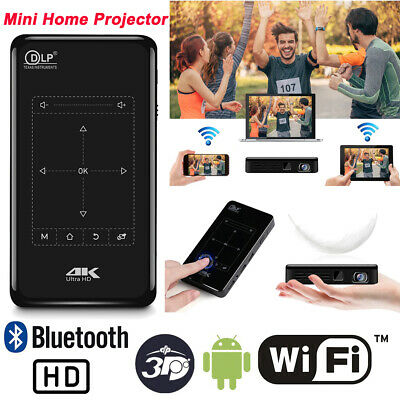 AU346.89 • Buy 2021 Android HD 1080P Home Theater Projector HDMI USB 4K Wifi Mini Home Cinema