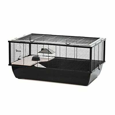 Grosvenor Rat And Hamster Cage With Wooden Shelf And Ladder, • 67.99£