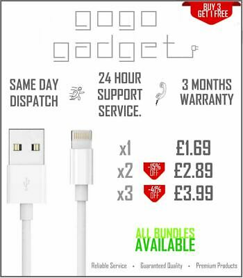 £1.69 • Buy CE Certified Charger Cable (1m) For Apple IPhone 5 6 7 8 X XR 11 12 IPad/Pro/Max