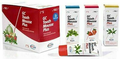 AU34.79 • Buy GC Tooth Mousse Plus Mix Flavour 1-Pack (1 X 40G Tube) Dental