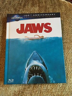 Jaws Universal 100th Anniversary Collectors Series [Blu-ray] [1975] Cheapest Dvd • 12.99£