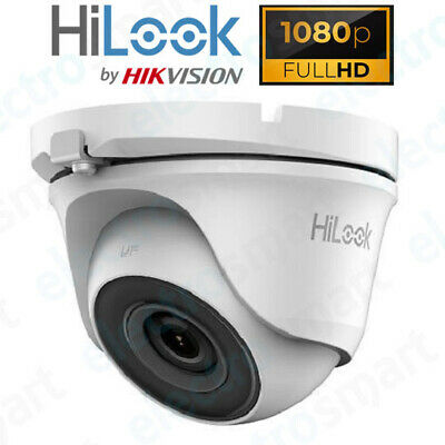 2MP White 1080p 2MP HD Turret Dome CCTV Security Camera 3.6mm Lens IP66 20m IR • 25.99£