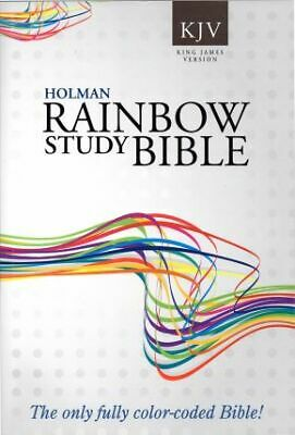 AU19.02 • Buy KJV Rainbow Study Bible Paperback .. NEW
