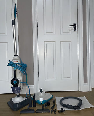 Vax Steam Mop With Accessories Combi Steam Cleaner 1600W S86-SF-CC Small Leak • 9.99£