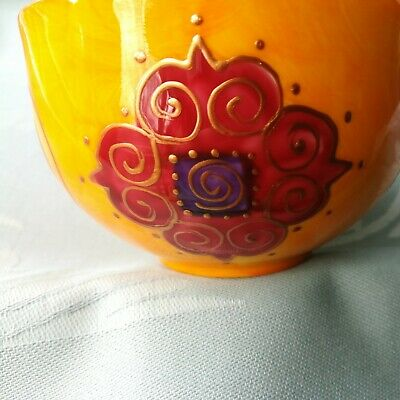 £67.26 • Buy Mug Cup Coffee Tea Vintage Porcelain French Hand-Painted Soizick Limoges Discont
