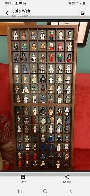 AU125 • Buy Vintage All Timber Printers Drawer Layout Wall Hanging Display Cabinet Tray Lego