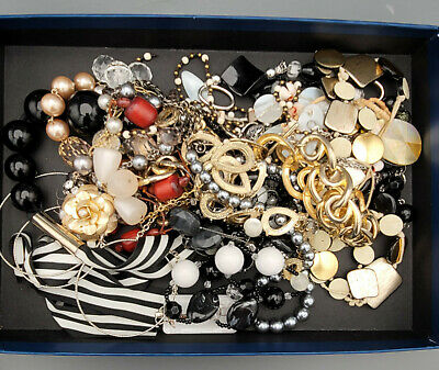 $ CDN12 • Buy Vintage To Now Estate Find Jewelry Lot Junk Drawer UNSEARCHED UNTESTED Wear