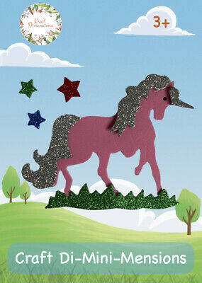£4.99 • Buy Unicorn Craft Foam Handmade Card Kit For Young Children. Makes 5. Age 3+